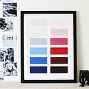 Personalised Life In Colour Print