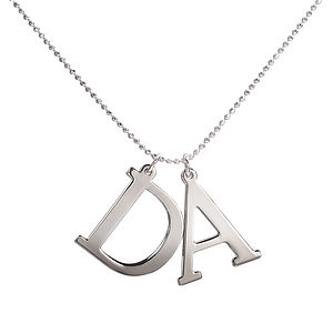Personalised Initial Necklace - necklaces & pendants