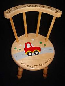 Personalised Wooden Chair