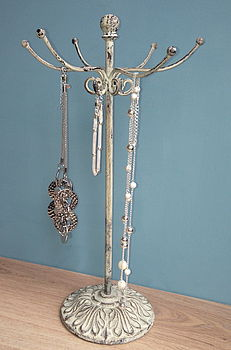 French Inspired Rustic Jewellery Stand