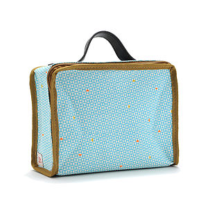Vintage Style Childs Fabric Mini Suitcase - children's accessories