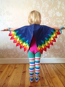 Bird Of Paradise Cape - fancy dress