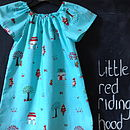 Little Red Riding Hood Girls Dress