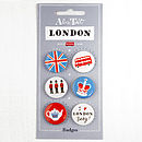Alice Tait 'Set Of London Badges'