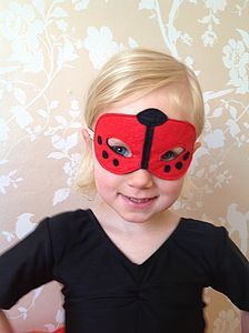Ladybird Mask - goodie bags & gifts for goodie bags