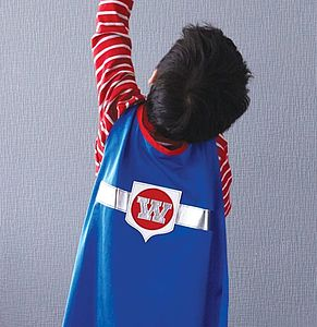 Superhero Star Cape - fancy dress