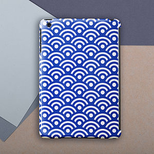 Japanese Paper Pattern Case For iPad , Mini And Air