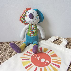 'Jeff The Rabbit' Soft Toy