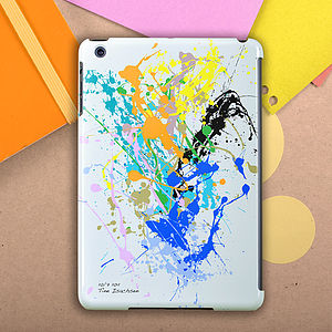 Personalised Paint Splat Case For iPad , Mini And Air - bags & cases