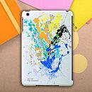 Personalised Paint Splat Case For iPad Mini
