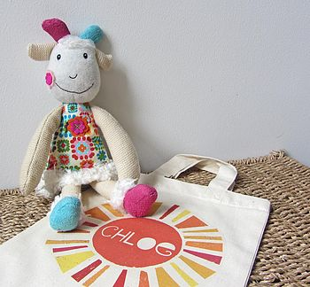'Hugette The Goat' Soft Toy