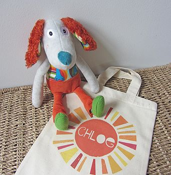'Antoine The Dog' Soft Toy
