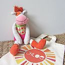'Anemone The Cow' Soft Toy
