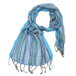Ladies Woven Scarf Ten Colours