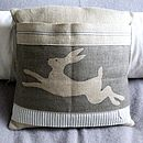 Racing Hare Cushion