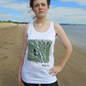 Little Birdy Fitted Vest Top