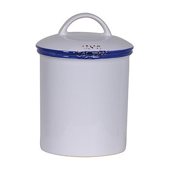 Enamel 'Canteen' Storage Cannister