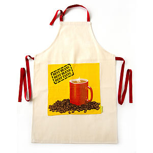 Upcycled Vintage Coffee Apron
