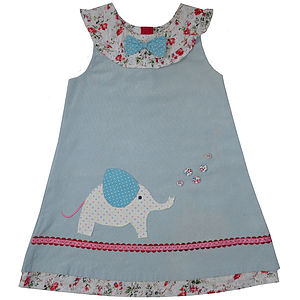 Personalised Dress With Applique - clothing