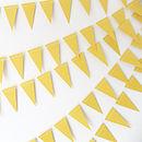 Sunshine Mini Paper Bunting
