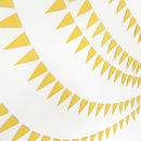 Sunshine Mini Paper Bunting