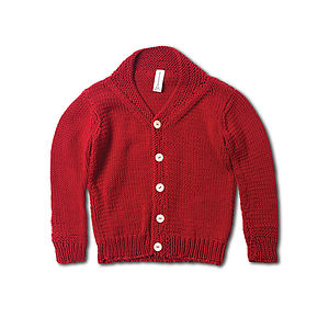 Hand Knitted Shawl Cardigan - jumpers & cardigans