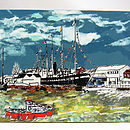 Bristol Placemat 'Ss Great Britain'