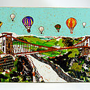 Bristol Balloons Over The Bridge Placemat