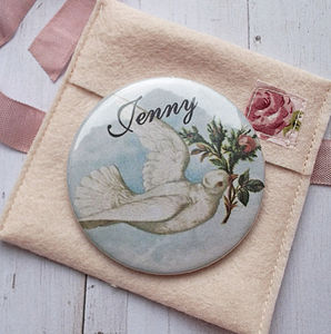 Dove Pocket Mirror - compact mirrors