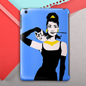 Audrey Hepburn Case For iPad Mini