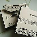 Vintage Sheet Music Songbird Pin