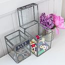 Glass Storage Box Available In Two Sizes