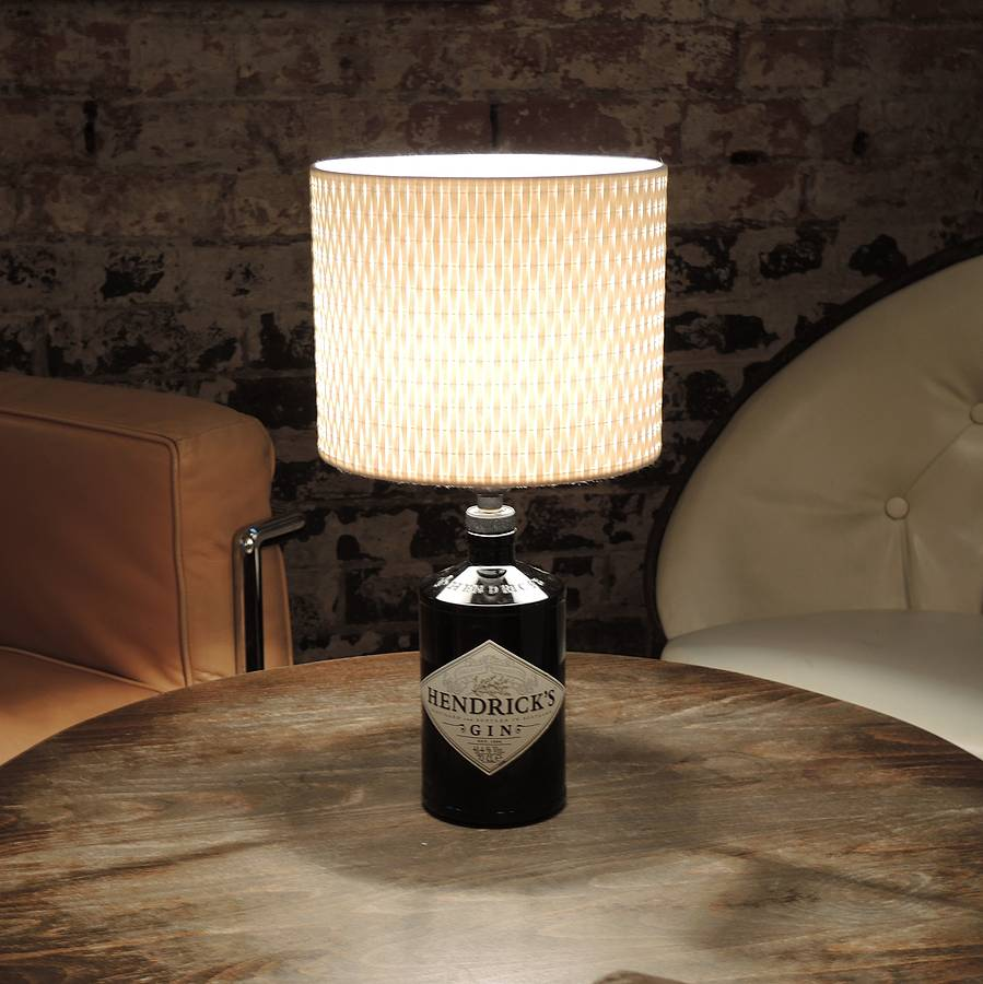 Upcycled Hendricks Table Lamp By Upcycled Creative