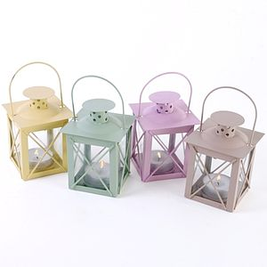 Tea Light Lanterns - candles & candlesticks