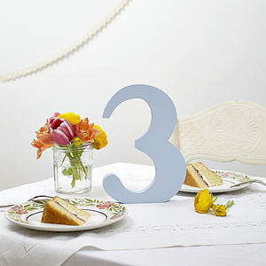 Table Numbers - table numbers