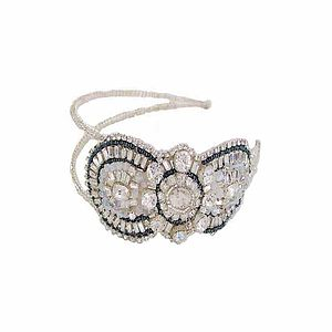 Acacia Art Deco Double Headband