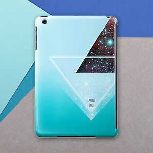 Personalised Geometric Case For iPad Mini - womens