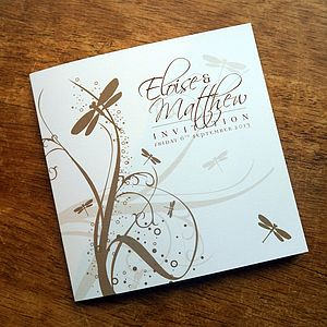 Meadow/Butterfly/Dragonfly Stationery Range - place cards