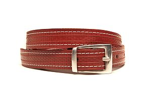 Reclaimed Fire Hose Skinny Stitch Belt - more