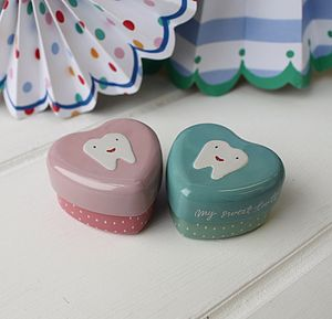 My Sweet Tooth Tin - keepsake boxes