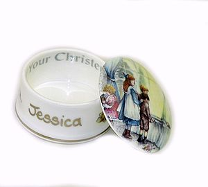 Personalised Christening Keepsake Box - christening gifts