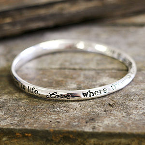 'Love, Where There Is Love…' Bracelet - women's jewellery