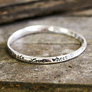 'Love, Where There Is Love…' Bracelet