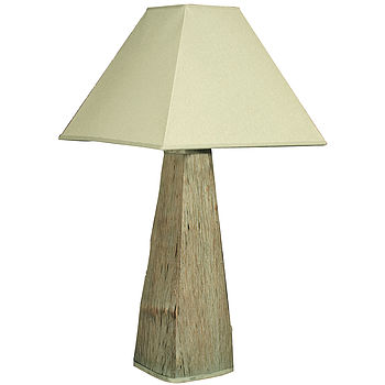 Driftwood Tapered Lamp