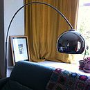 Fabulous Chrome Arc Lamp