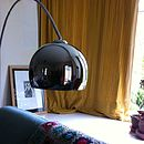 Fabulous Chrome Arc Lamp