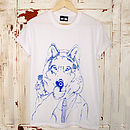 Disgruntled Wolf T Shirt