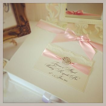 Opulence Wedding Keepsake Box