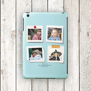 Personalised Colour Photo Case For iPad , Mini, Air - tech accessories for him