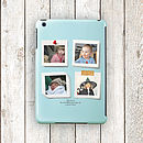 Personalised Colour Photo Case For iPad , Mini, Air